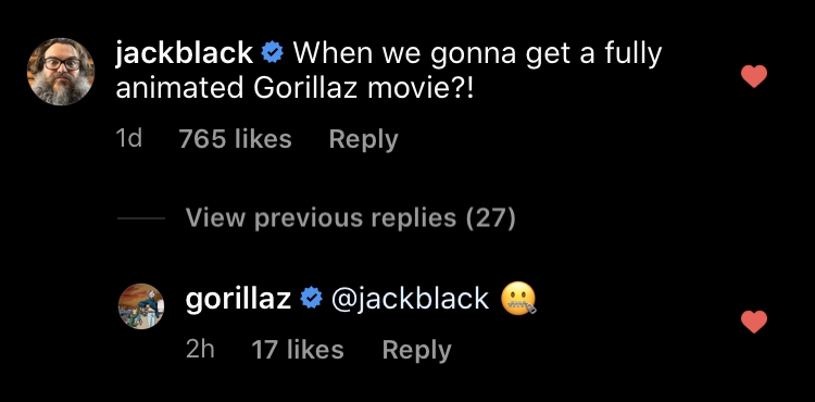 Gorillaz movie