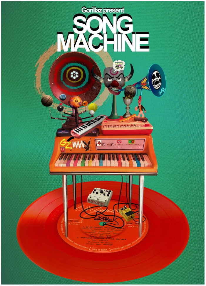 Song Machine Poster